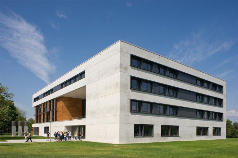 Vielbertgebäude an der Universität Regensburg